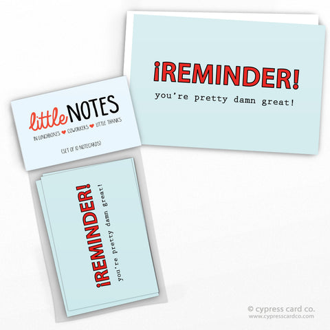 Reminder! (Set of 10)