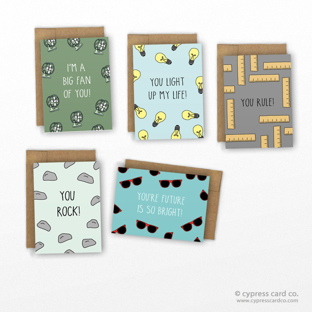 Funny Valentines Day Card Set by Cypress Card Co. | Wholesale Greeting Cards