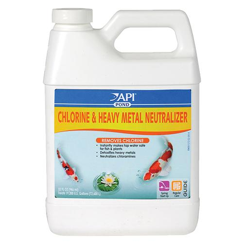 API/POND CARE: CHLORINE & HEAVY METAL NEUTRALIZER