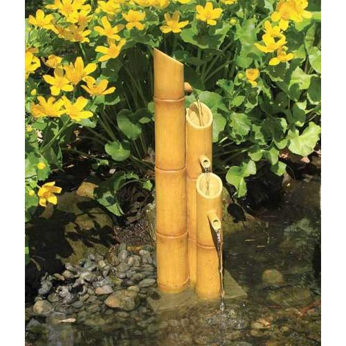 POURING FOUNTAIN 3-TIER BAMBOO
