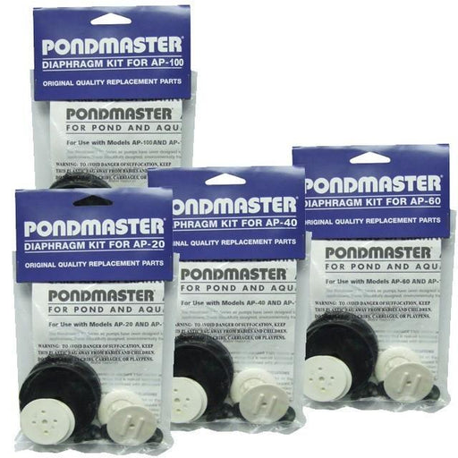 PONDMASTER: DIAPHRAGM KIT AP20-AP100