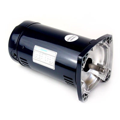 1 HP Single Speed 48 Frame Square Flange Motor