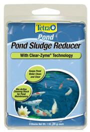 TETRA SLUDGE REDUCER BLOCK 4 PACK