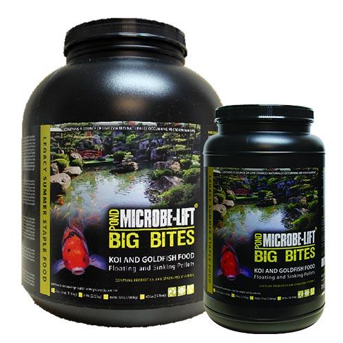 Microbe-Lift Big Bites Summer Staple Food - Floating