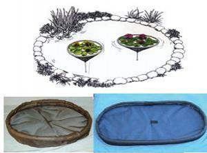 NYCON OVAL FLOATING PLANT PROTECTOR/FISH BARRIERS