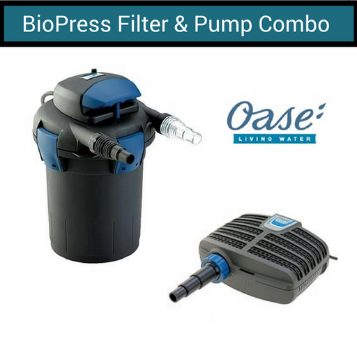 OASE BioPress Pond Filter & Pump Combo