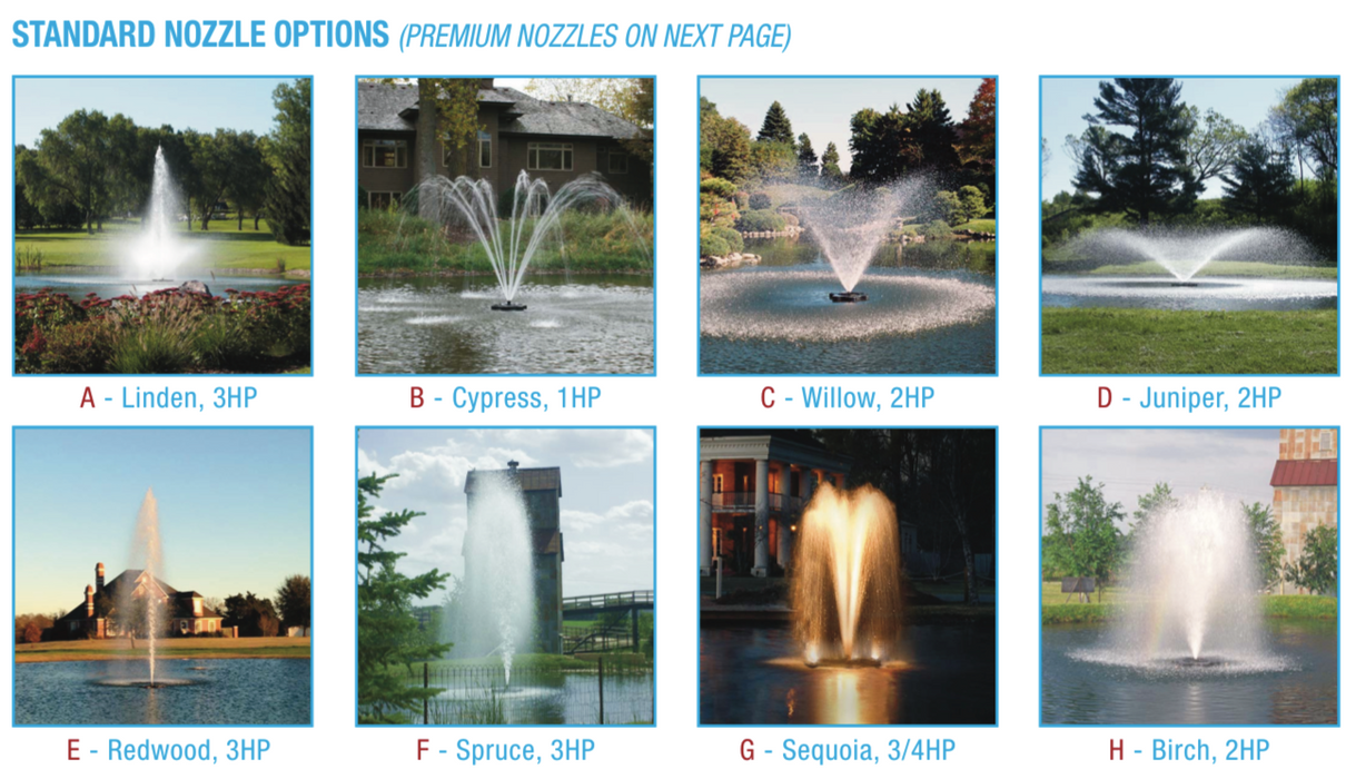 KASCO 2HP 3 PHASE 2.3 JF FOUNTAINS