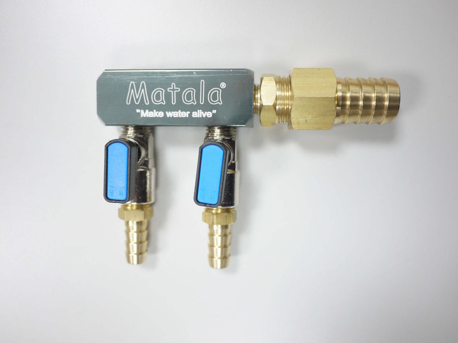 MATALA/HAKKO: BRASS HD 2 WAY OR 4 WAY AIR MANIFOLDS