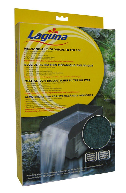 FILTER PAD FOR LAGUNA SPILLWAY