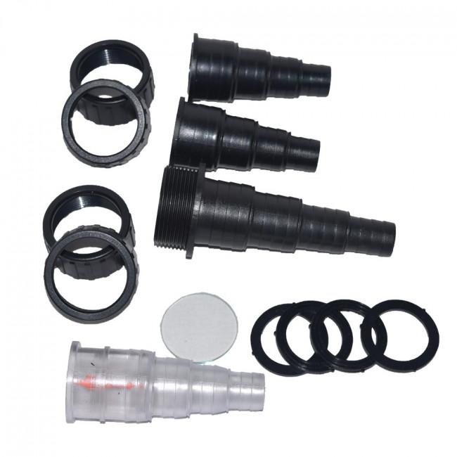 ProEco Hose Tail/Sch 40 Adapter set for all CPF/EZ filters