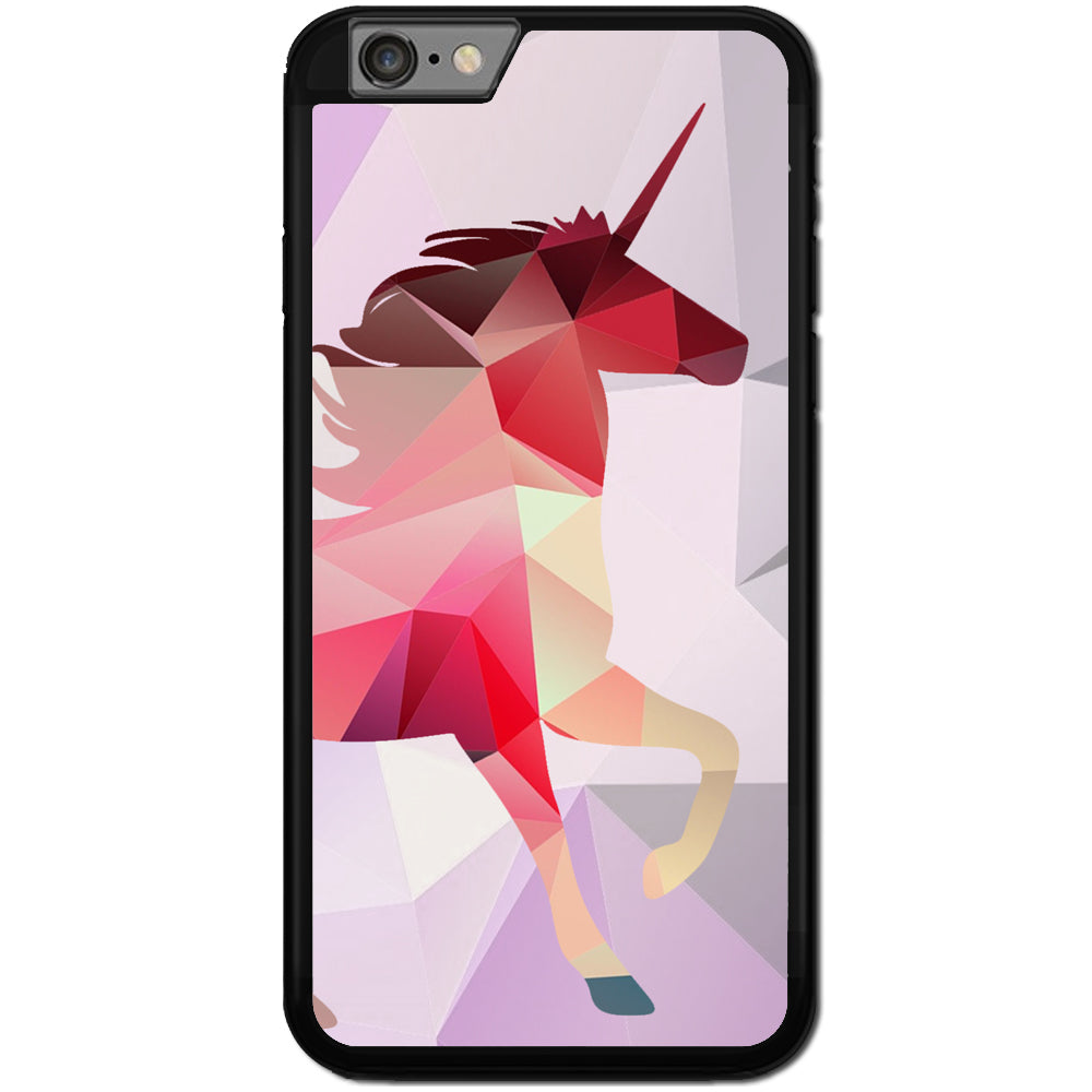Fits Apple iPhone 6 PLUS & 6S PLUS - Unicorn Abstract Case Phone Cover Y00006