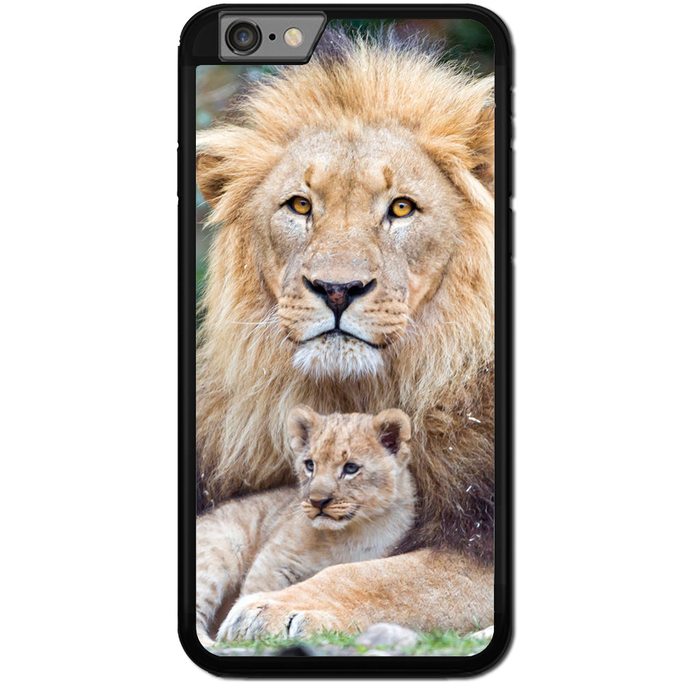 Fits Apple iPhone 6 PLUS & 6S PLUS - Lion and Cub Case Phone Cover Y00066