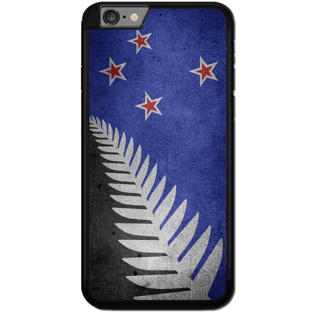 new product ee3a7 6fb67 Fits Apple iPhone 7 - NZ Fun Flag Grunge Case Phone Cover Y00173