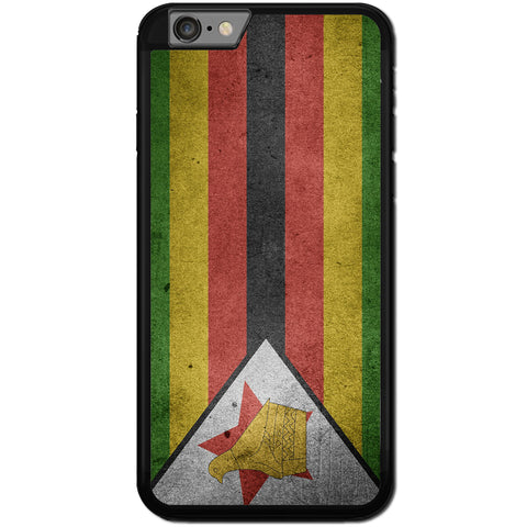 Fits Apple iPhone 7 PLUS - Zimbabwe Flag Case Phone Cover Y00185