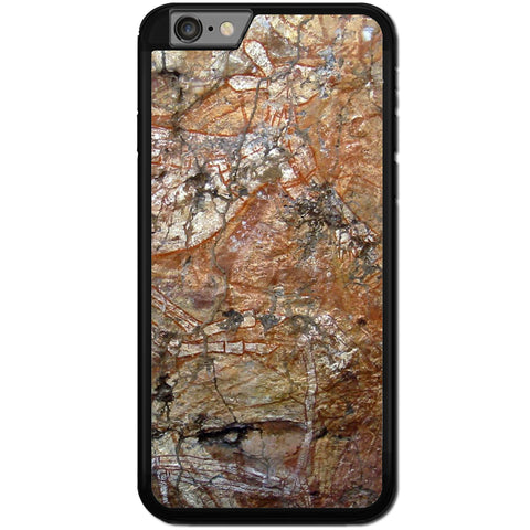 Fits Apple iPhone 6 & 6S - Aboriginal Art Case Phone Cover Y00245