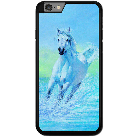 Fits Apple iPhone 6 & 6S - Art Horse Water Case Phone Cover Y00280