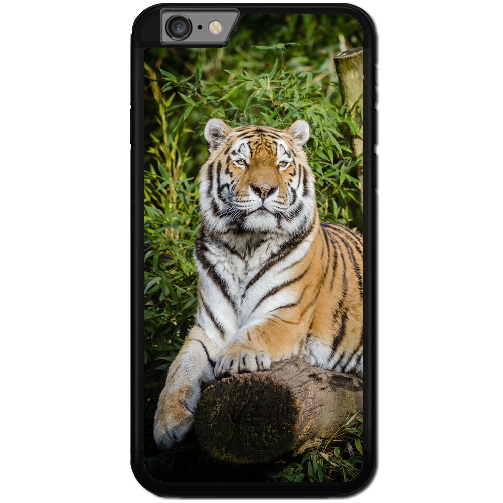 Fits Apple iPhone 6 & 6S - Tiger Cute Case Phone Cover Y00335