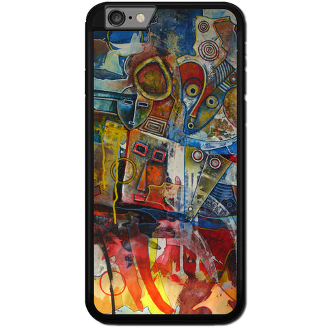 Fits Apple iPhone 6 & 6S - African Abstract Case Phone Cover Y00360