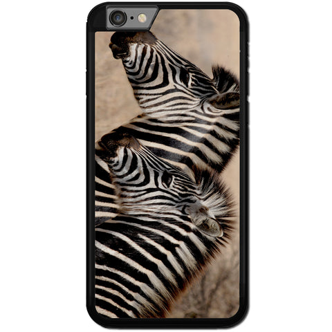 Fits Apple iPhone 6 PLUS & 6S PLUS - Zebra Baby Mum Case Phone Cover Y00362