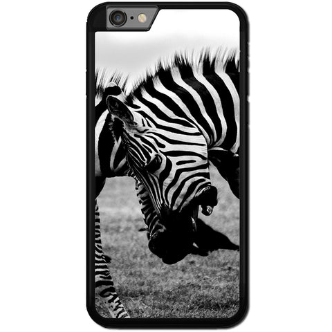Fits Apple iPhone 6 PLUS & 6S PLUS - Zebra Fight Case Phone Cover Y00373