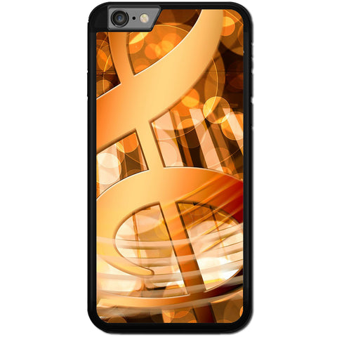 Fits Apple iPhone 6 PLUS & 6S PLUS - Abstract Music Case Phone Cover Y00392