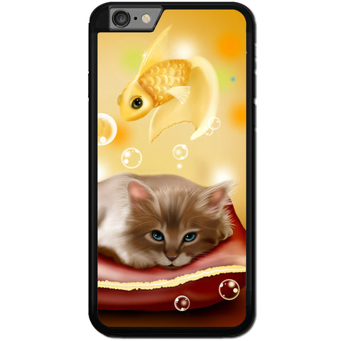 Fits Apple iPhone 7 PLUS - Dream Kitten Case Phone Cover Y00436