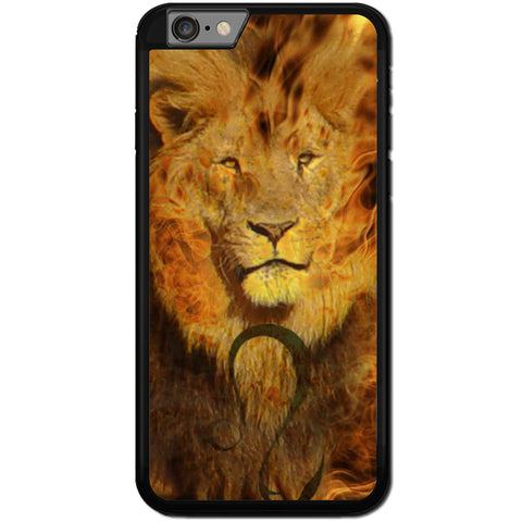 Fits Apple iPhone 7 PLUS - Fire Lion Case Phone Cover Y00446
