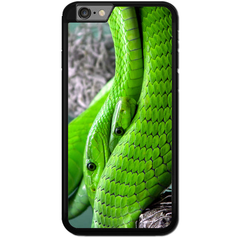 Fits Apple iPhone 7 PLUS - Green Snakes Case Phone Cover Y00450