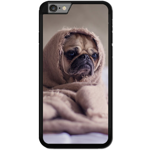 Fits Apple iPhone 7 PLUS - Pug Funny Case Phone Cover Y00650