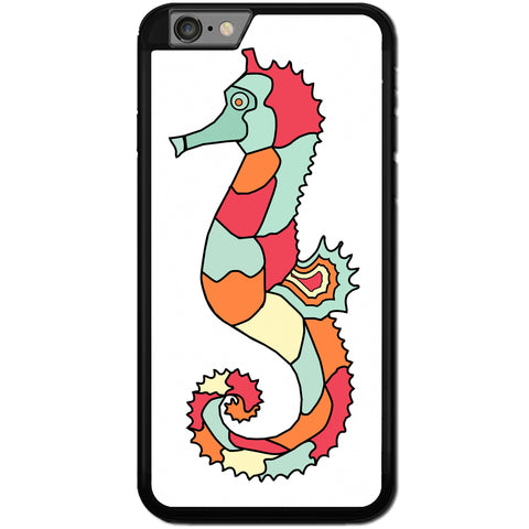 Fits Apple iPhone 6 & 6S - Artistic Seahorse Case Phone Cover Y00655