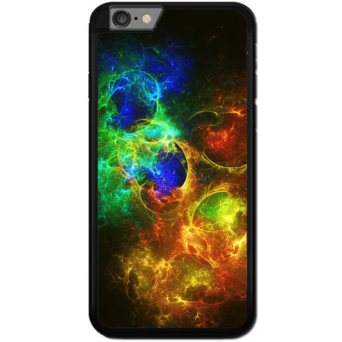 Fits Apple iPhone 6 & 6S - Abstract Fire Ice Case Phone Cover Y00792