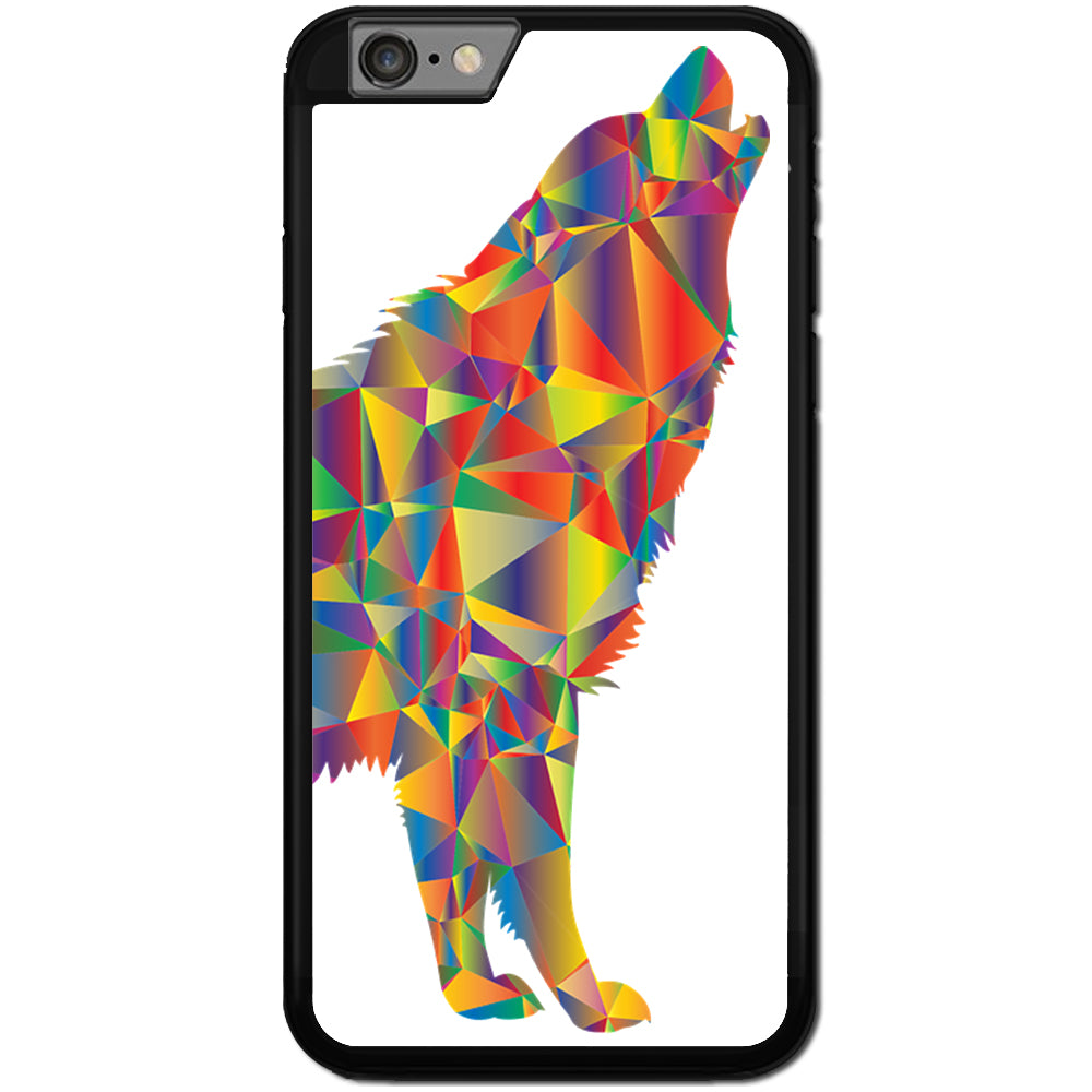 Fits Apple iPhone 6 & 6S - Wolf Vector Art Case Phone Cover Y00948