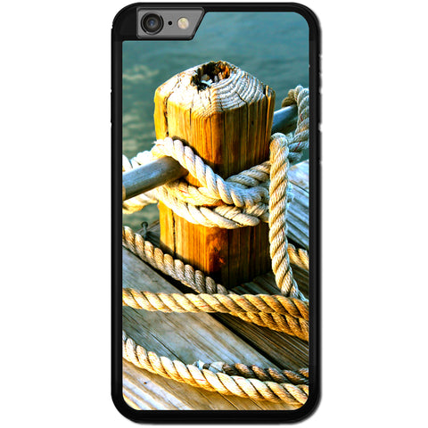 Fits Apple iPhone 6 & 6S - Anchor Rope Case Phone Cover Y00972