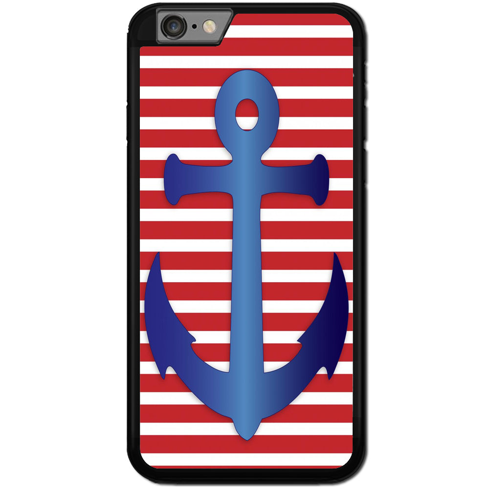 Fits Apple iPhone 6 & 6S - USA Anchor Case Phone Cover Y00982