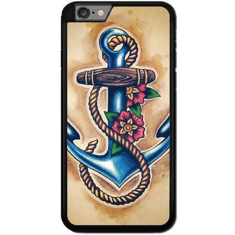 Fits Apple iPhone 6 & 6S - Anchor Painting Case Phone Cover Y00983
