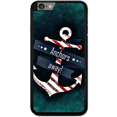 Fits Apple iPhone 6 & 6S - Anchors Away Case Phone Cover Y00984