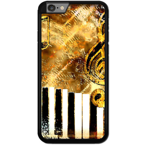 Fits Apple iPhone 7 PLUS - Abstract Music Case Phone Cover Y01182