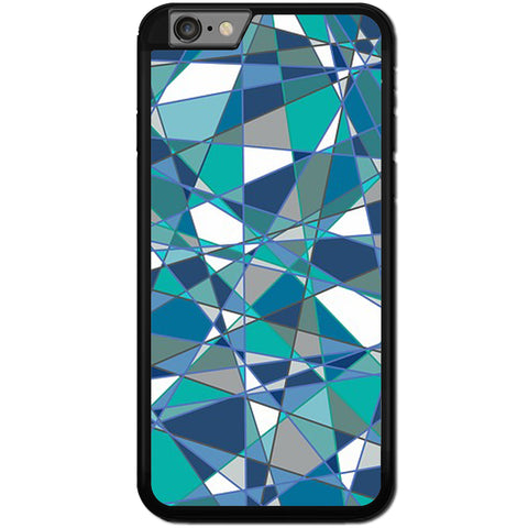 Fits Apple iPhone 6 PLUS & 6S PLUS - Abstract Teal Case Phone Cover Y01184