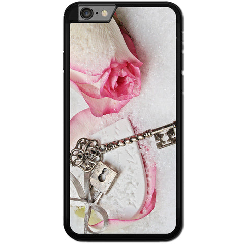Fits Apple iPhone 7 PLUS - Key Lock Heart Case Phone Cover Y01315