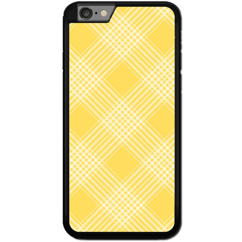 Fits Apple iPhone 7 - Yellow Checkers Case Phone Cover Y01467