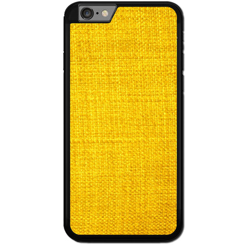Fits Apple iPhone 8 PLUS - Yellow Texture Case Phone Cover Y01475