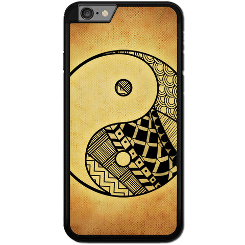 Fits Apple iPhone 8 PLUS - Yin Yang Grunge Art Case Phone Cover Y01479