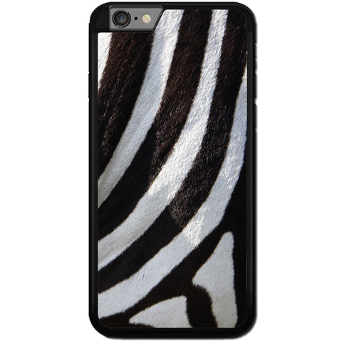 Fits Apple iPhone 8 - Zebra Fur Case Phone Cover Y01492