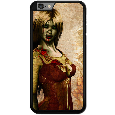 Fits Apple iPhone 6 PLUS & 6S PLUS - Zombie Mistress Case Phone Cover Y01494