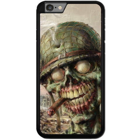 Fits Apple iPhone 6 PLUS & 6S PLUS - Zombie Soldier Case Phone Cover Y01495