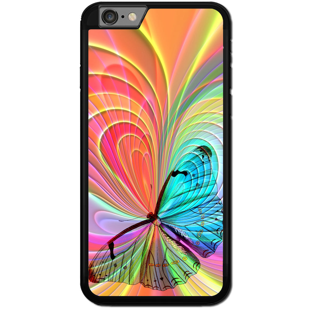 Fits Apple iPhone 6 & 6S - butterfly Creation Case Phone Cover Y01549