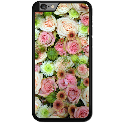 Fits Apple iPhone 6 & 6S - Roses And Natives Case Phone Cover Y01553
