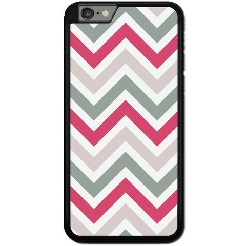 Fits Apple iPhone 6 & 6S - Chevron Wave Case Phone Cover Y01559