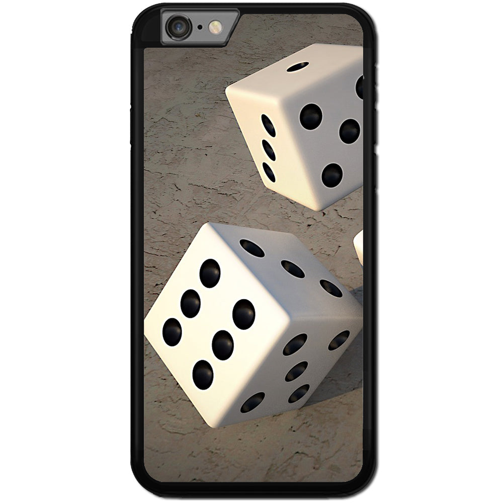 Fits Apple iPhone 6 & 6S - Gambling Dice Case Phone Cover Y01566