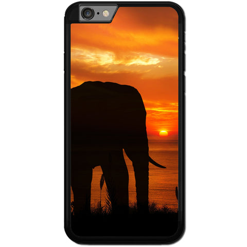 Fits Apple iPhone 6 PLUS & 6S PLUS - Elephant Sunset Case Phone Cover Y01622